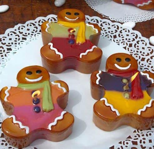 candela omino biscotto