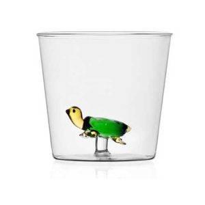 ichendorf bicchiere animal farm tartaruga