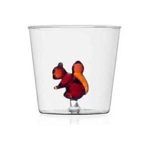 ichendorf bicchiere animal farm scoiattolo